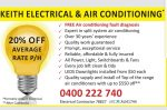 Keith Electrical & Air Conditioning